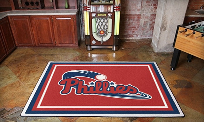 """My Sports Rug: 99 for Any 5'4""""x7'8"""" Sports-Team Floor Rug from My Sports Rug ($250 Value)"""