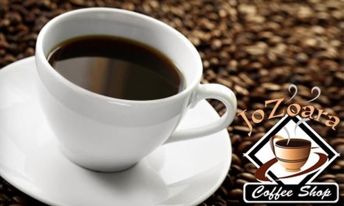 JoZoara Coffee Shop - Murfreesboro: $5 for $10 Worth of Coffee, Espresso, Pastries, and More at JoZoara Coffee Shop in Murfreesboro