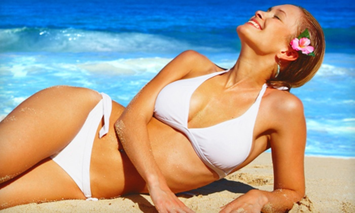 Sunny Buns Tanning Salon & Spa - Lincoln Heights: One or Three VersaSpa Spray Tans or One Month of Unlimited Tanning at Sunny Buns Tanning Salon & Spa (Up to 65% Off)
