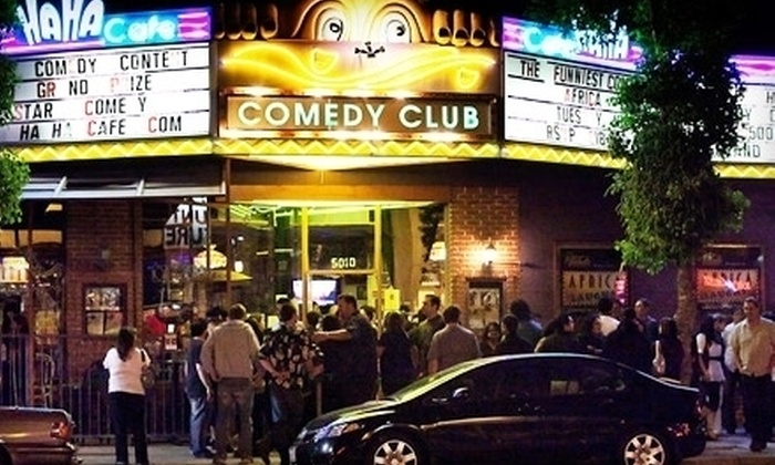 HaHa Comedy Club - Valley Village: $20 for a Comedy Night for Two at HaHa Comedy Club in North Hollywood (Up to $50 Value)