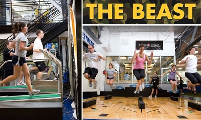 Chelsea Piers - New York City: $40 for 3 Boot-Camp Training Sessions at Chelsea Piers Sports Complex. See Below for 2-Week Facility Access and Golf Simulator Time.