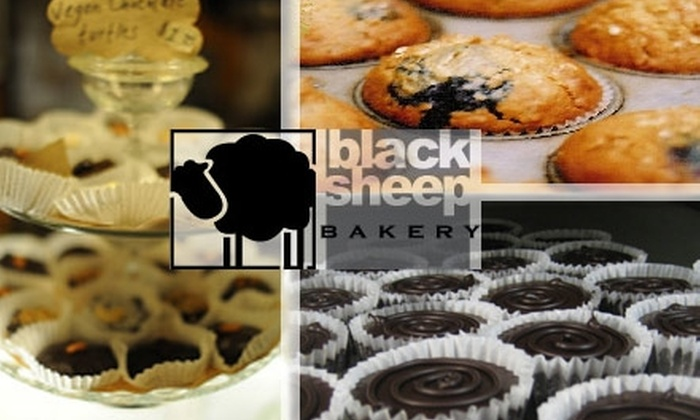 Black Sheep Bakery - Multiple Locations: $6 for $12 Worth of Vegan Baked Goods, Sandwiches, and More at Black Sheep Bakery