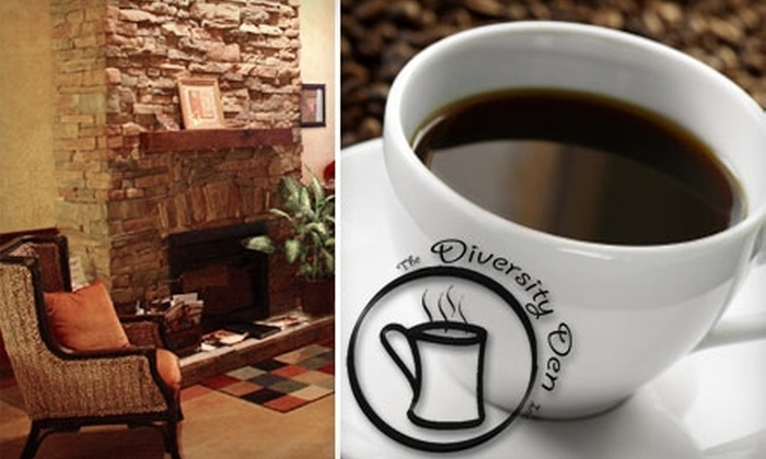 Diversity Den Café - Concord: $5 for $10 Worth of Coffee Beverages, Beer, Snacks, and More at Diversity Den Café in Concord