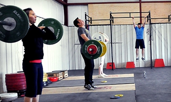 CrossFit Twenty - Moose Jaw: $49 for 10-Class Punch Card and Three Introductory On-Ramp Classes at CrossFit Twenty in Moose Jaw ($210 Total Value)