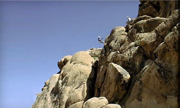 Joshua Tree Guides - Twentynine Palms-Morongo Valley: $140 for Four-Hour Private Guided Rock-Climbing Tour For Two From Joshua Tree Guides ($290 Value)