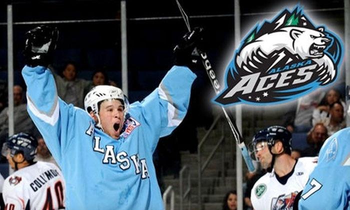 Alaska Aces - North Star: $12 for One Lower Mezzanine Ticket to Alaska Aces Hockey ($24 Value). Choose From Four Dates.