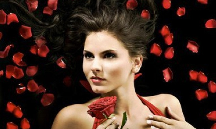Glamour Photo Shop - Ariss: $59 for 90-Minute Photo Shoot with Hairstyling, Makeup, and Photo DVD at Glamour Photo Shop in Elora (Up to $149 Value)
