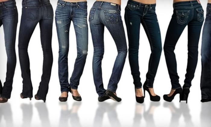 Blond Genius - West Des Moines: $45 for $90 Toward Custom-Fit Designer Jeans at Blond Genius