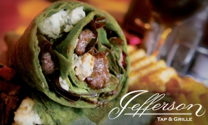 Jefferson Tap & Grille - West Loop: $7 for $15 Worth of Upscale Pub Fare and Potables at Jefferson Tap & Grille