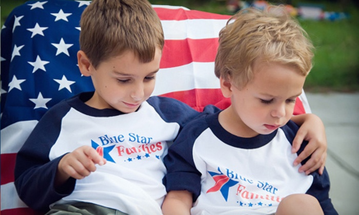 Blue Star Families - Washington DC: If 50 People Donate $8, Then Blue Star Families Can Donate 100 Books to Children in Military Families, Facilities, or Regions
