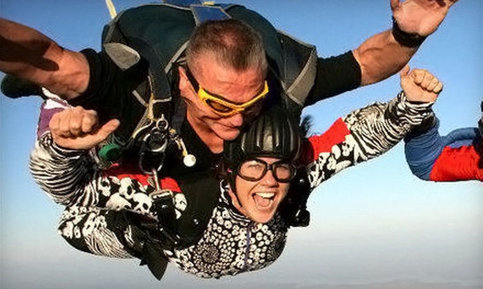 Chattanooga Skydiving Company - Jasper: Tandem Skydive with a Digital Video for One or Two from Chattanooga Skydiving Company in Jasper (Up to 52% Off)