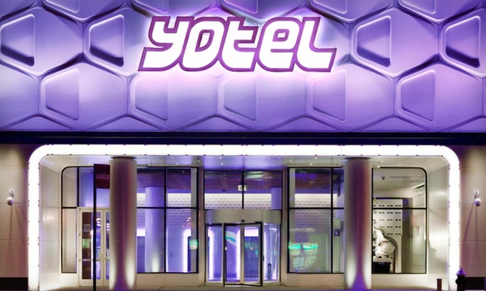 Yotel Times Square  - Hell's Kitchen: $149 for a One-Night Stay for Two in January or February at Yotel Times Square in New York City (Up to $319 Value)