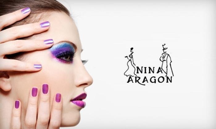 Nina Aragon Hair - Sombra Del Monte: $12 for a Signature Manicure ($25 Value) or $25 for a Signature Pedicure ($50 Value) at Nina Aragon Hair