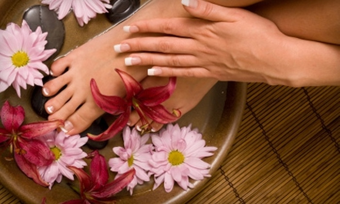 Lotus Therapeutic Massage - Parole: $30 for a 60-Minute Hot-Stone Pedicure at Lotus Therapeutic Massage in Annapolis ($60 Value)
