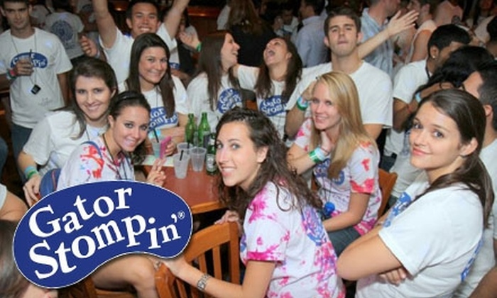 Gator Stompin' 2011 - Gainesville: $17 for One Ticket to 2011 Gator Stompin' Pub and Restaurant Crawl (Up to $35 Value)
