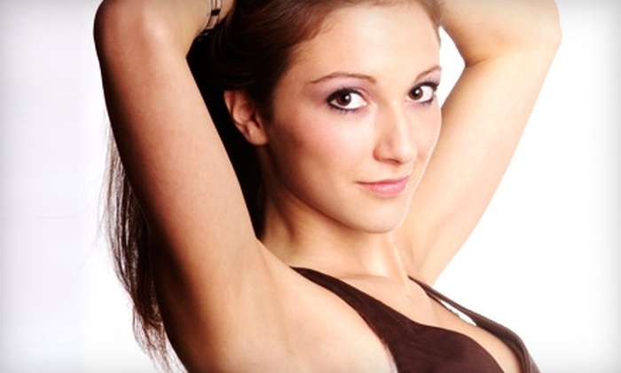Landa Cosmetic & Spa - Framingham: $99 for Three Laser Hair-Removal Treatments at Landa Cosmetic & Spa in Framingham (Up to $555 Value)