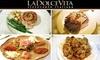 La Dolce Vita Ristorante - Lower Queen Anne: $30 for $60 Worth of Delicious Italian Cuisine at La Dolce Vita