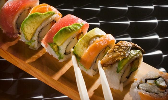 Sans Sushi - Caloosahatchee: $10 for $20 Worth of Japanese and Thai Fare at Sans Sushi