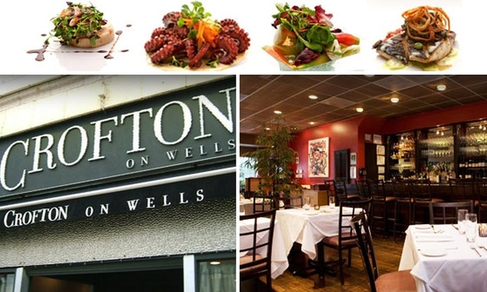 Crofton on Wells - Near North Side: $35 for $75 Worth of American Cuisine at Crofton on Wells