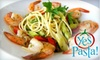 Yes Pasta - North Miami: $10 for $20 Worth of Customizable Italian Cuisine at Yes Pasta!