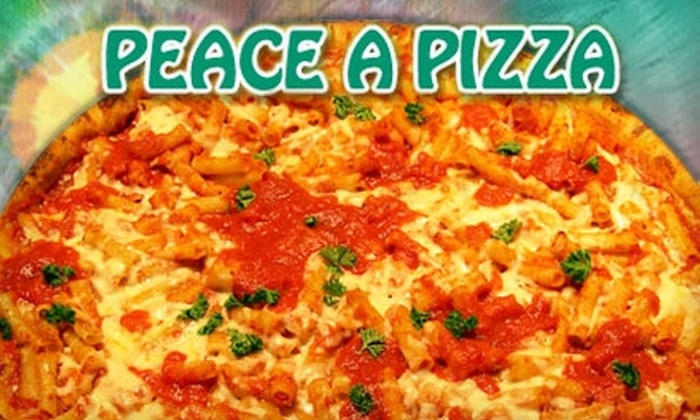 Peace A Pizza - Boca Technology Center: $10 for $20 Worth of Pizza, Subs, Salads, and Drinks at Peace A Pizza in Boca Raton