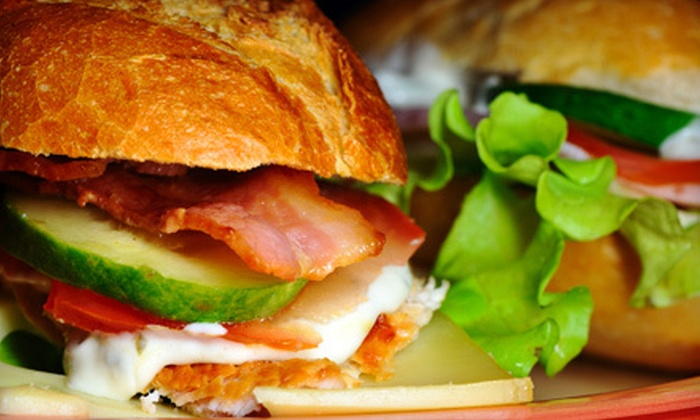 Down to Earth Café - Perkasie: $20 for a Five-Sandwich Punch Card at Down to Earth Café in Perkasie (Up to $41.25 Value)