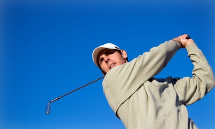 CityGolf - Multiple Locations: $45 for a Video Golf-Swing Analysis or 2.5 Hours in a Golf Simulator at CityGolf