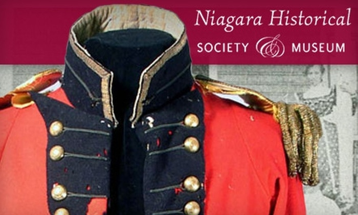 Niagara Historical Society & Museum - Niagara-on-the-Lake: $5 for Two Adult Admissions to the Niagara Historical Society & Museum