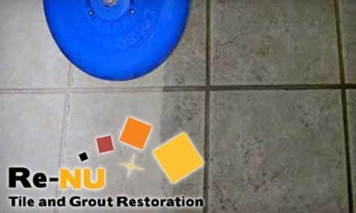 Re-Nu Tile and Grout Restoration - Midland / Odessa: $85 for Tile and Grout Cleaning from Re-Nu Tile and Grout Restoration ($170 Value)