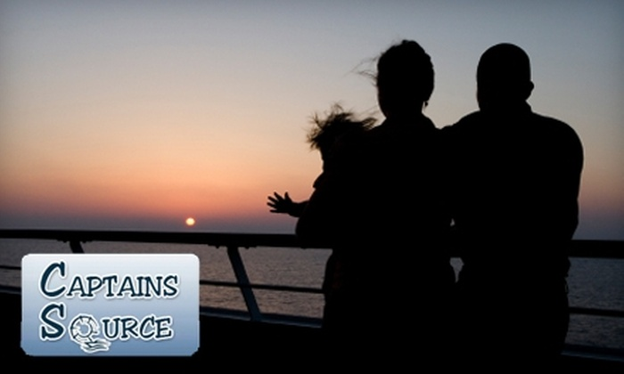 Captains Source - Charleston: $69 for a 90-Minute Boat Tour for Two from Captains Source ($195 Value). Two Options Available.