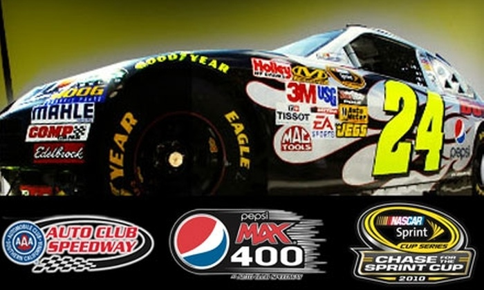 Auto Club Speedway - Fontana: $50 for One Ticket to the Pepsi Max 400 ($105 Value)