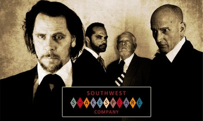 "Southwest Shakespeare Company - Downtown Mesa: $15 Ticket to Southwest Shakespeare Company's ""Julius Caesar"" at Mesa Arts Center. Buy Here for Sunday, January 17, at 3 p.m. ($27 Value) See Below For Additional Dates."