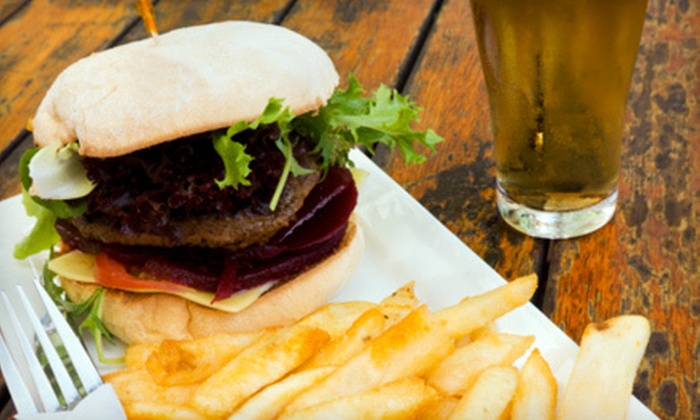 Rex's Burgers and Brews - West Central: $8 for $16 Worth of American Comfort Fare at Rex's Burgers and Brews