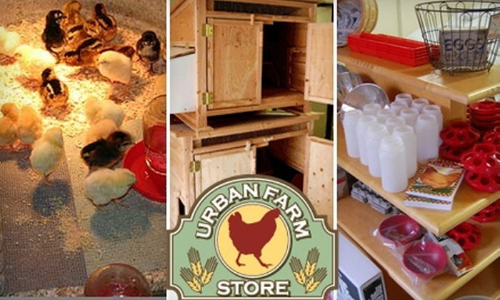 Urban Farm Store - Buckman: $10 for $20 Worth of Merchandise at Urban Farm Store