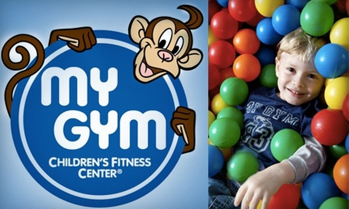My Gym Children's Fitness Center - Multiple Locations: $45 for a Lifetime Membership and Four Classes and Four Free Plays at My Gym Children's Fitness Center ($154 Value)