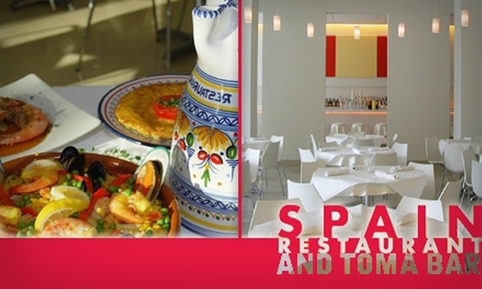 Spain Restaurant and Toma Bar - Tampa Bay Area: $15 for $30 Worth of Tapas and Drinks at Spain Restaurant and Toma Bar