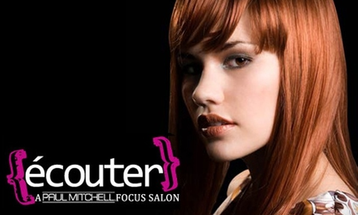 écouter Salon  - Heartside-Downtown: $50 for a Haircut, Style, and Your Choice of Color or Partial Highlight at Écouter Salon