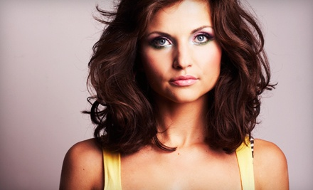 Color, Haircut, Blow-Dry, and Style (a $110 value) - Hair Attractions in Chantilly