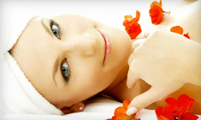 Glow Hair Skin and Harmony - Fall River Station: One or Three Extended Facials with Local Massage at Glow Hair Skin and Harmony in Fall River (Up to 56% Off)