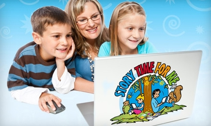 Story Time For Me: $23 for 50 Multimedia Storybooks from Story Time For Me ($59 Value)