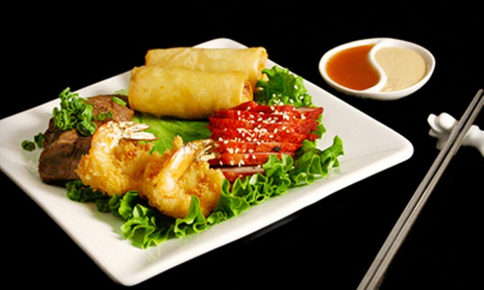 Sungari's Dragonwell Asian Bistro - Downtown: Meal for Four or $22 for $45 Worth of Asian Cuisine at Sungari's Dragonwell Asian Bistro