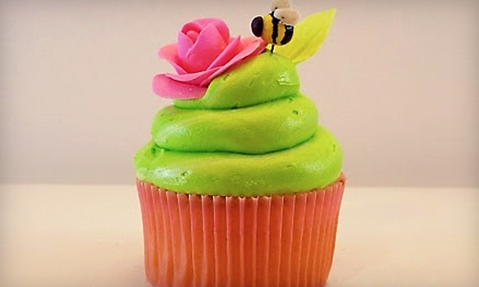 Lola and Me - Coral Gables Section: $7 for One Dozen Mini Cupcakes ($15 Value) or $15 for One Dozen Regular-Size Cupcakes ($30 Value) at Lola and Me in Coral Gables