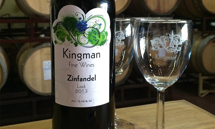 Kingman Estates Winery - Denver: $37 Tasting Package for Two with Tour and Wine Credit at Kingman Estates Winery ($70 Off)