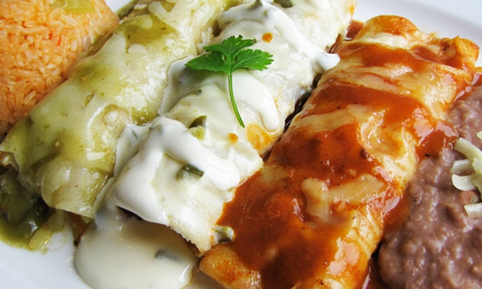 Mexicali Fresh Mex Grill - Multiple Locations: Authentic MexicanFood at Mexicali Fresh Mex Grill (50% Off). Two Options Available.