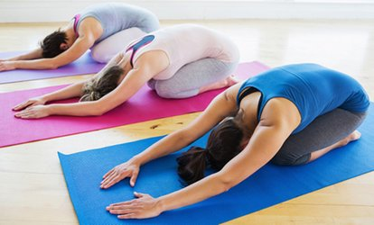 image for 5 or 10 Passes or 1 Month Unlimited of <strong>Yoga</strong> Classes at Yoga108 (Up to 78% Off)