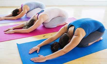 5 or 10 Passes or 1 Month Unlimited of Yoga Classes at Yoga108 (Up to 78% Off)