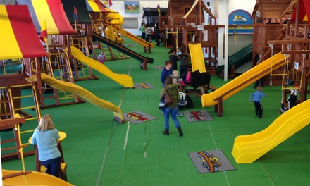 Four Play Sessions or Birthday Party for Up to 15 Children at Rainbow Swing Set Superstore (Up to 50% Off)