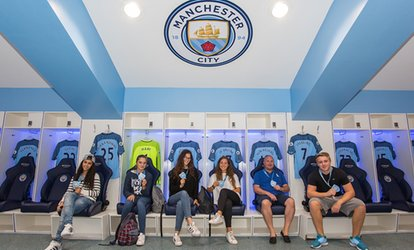 image for Manchester City FC Stadium and Club Tour with Souvenir Photo at Manchester City Football Club (Up to 30% Off)