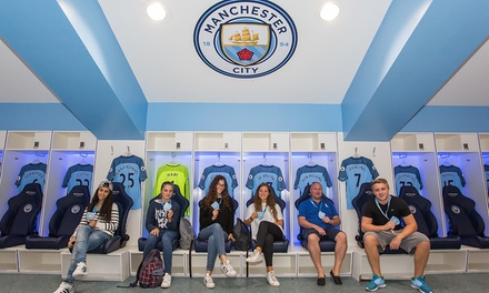 Manchester City FC Stadium and Club Tour with Souvenir Photo at Manchester City Football Club