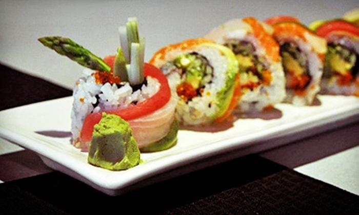 Banzai Sushi Bar - North Shore Market Place: Sushi and Sake at Banzai Sushi Bar (50% Off). Two Options Available.